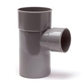 PVC verloop T-stuk 90 graden lijmspie