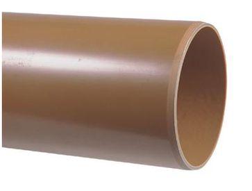 PVC Afvoerbuis bruin