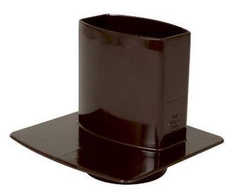 nicoll-ovation-bruin-hwa-overgangstuk-met-grondplaat