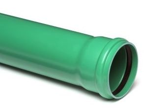 pvc-buis-groen-manchet