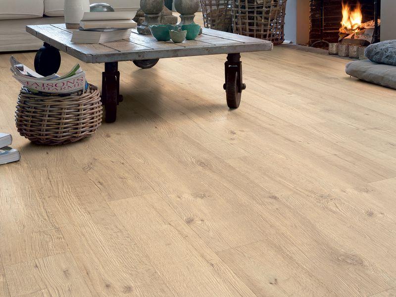 Eiken parket laminaat pvc vloeren quick step meister visgraat