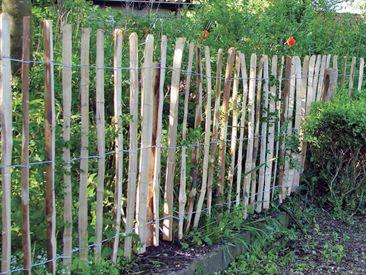 Houten Hekwerk Tuin : Houten tuin hekken rondhout palen en weidepoorten