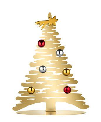 Alessi Kerstboom Bark Goud BM06/30 Door Michel Boucquillon & Donia Maaoui