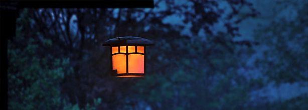 Buiten hanglampen