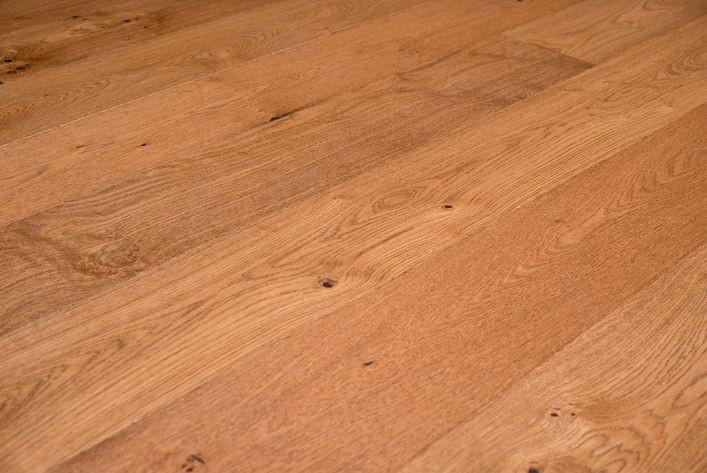 Fesca eiken duoplank parket vloer naturel gelakt houten vloeren