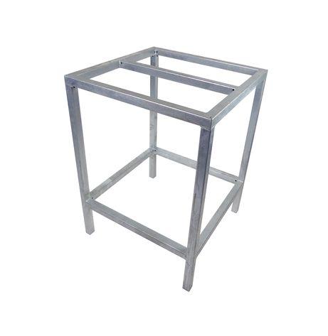 Rvs Onderstel Statafel.Statafel Frame Staal Verzinkt 80 X 80 X 110 Cm Tafel Onderstel