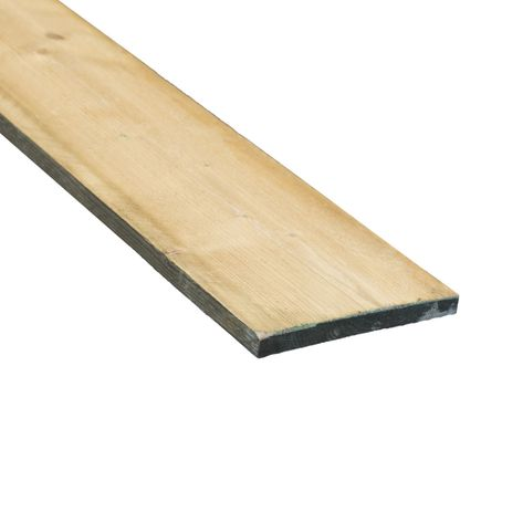 Wandplank 90 Cm Breed.Fijnbezaagde Plank Naaldhout Geimpregneerd 2 Cm Dik