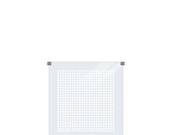 Glazen Afscheiding Terras : Terrasscherm van glas 90x91 cm windscherm gehard glas 6 mm dik