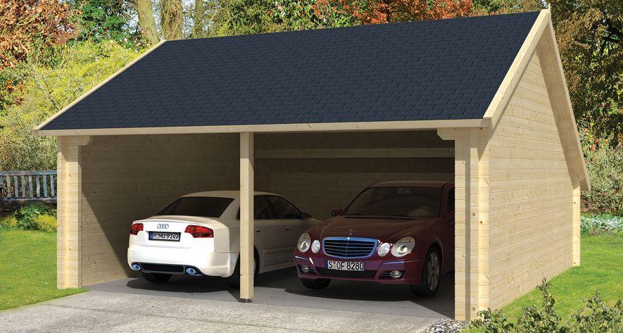 Houten Garage Prijs : Garage kapschuur vuren hout tuindeco nysse cm