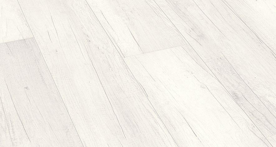 Laminaat Wit Eiken : Meister classic ld eik wit dekkend witte laminaat vloer