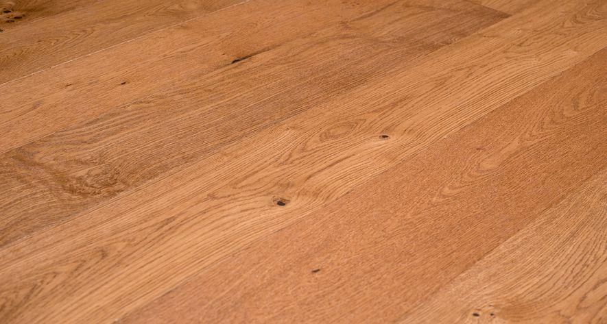 Goedkope Houten Vloeren : Fesca eiken duoplank parket vloer naturel gelakt houten vloeren