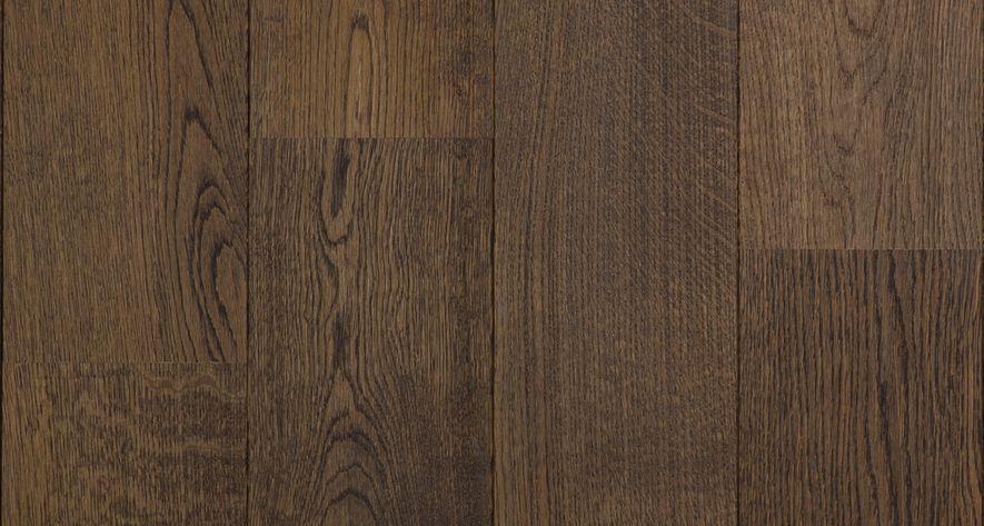 Eiken lamelparket zwart olie hout duoplank vloer rustiek abc