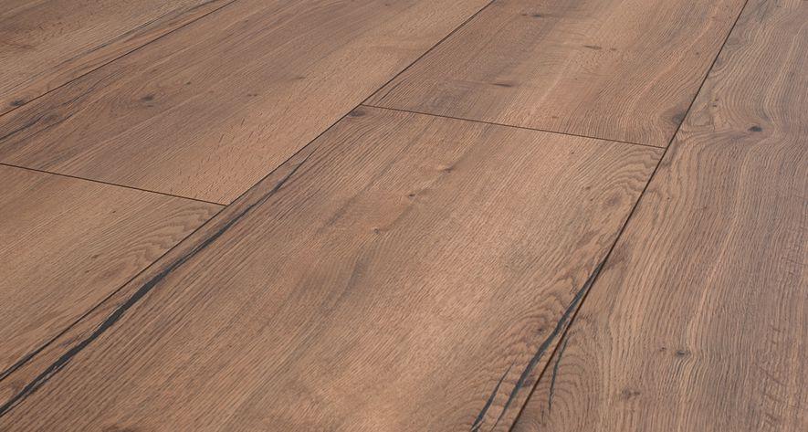 Floer landhuis laminaat vloer rustiek bruin eiken extra breed