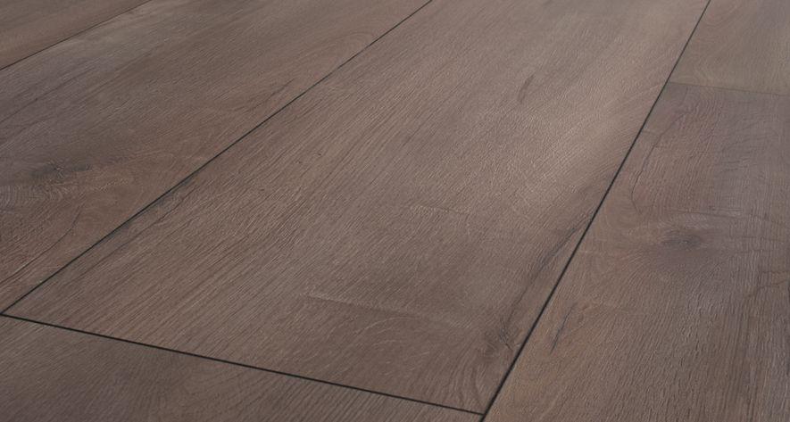 Floer landhuis laminaat vloer vergrijsd bruin eiken extra breed
