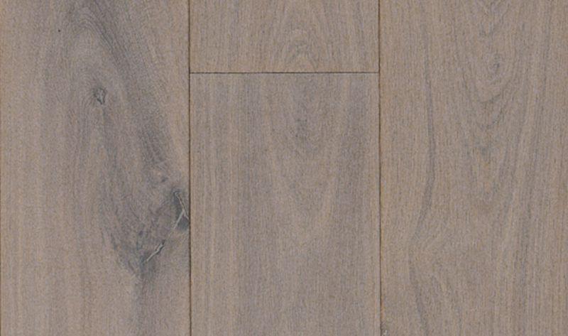 Noestvrij eiken houten parket vloer dubbel gerookt wit olie