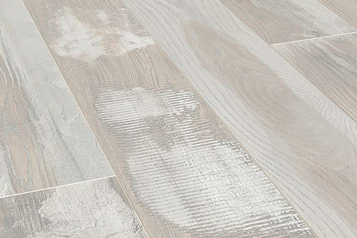 Wit Eiken Laminaat : Floer sloophout laminaat gekalkt wit eiken witte vloer verouderd