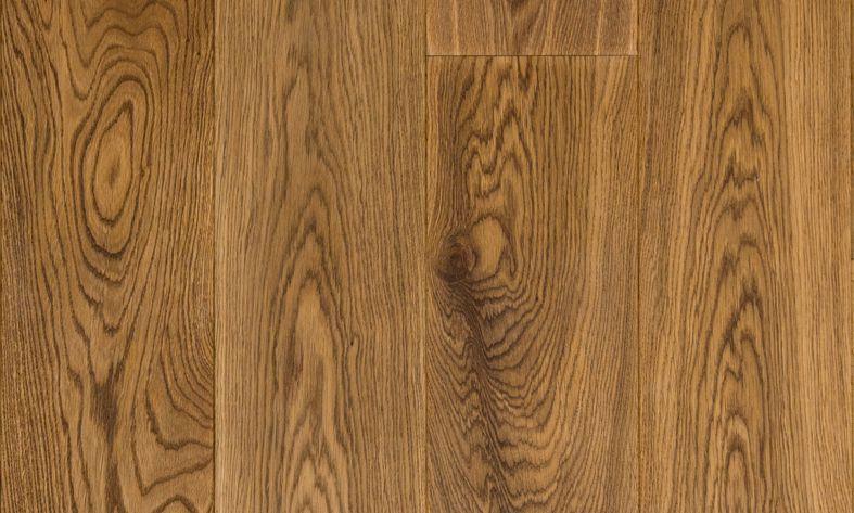 Eiken lamel parket dubbel gerookt geolied houten vloer 18 cm