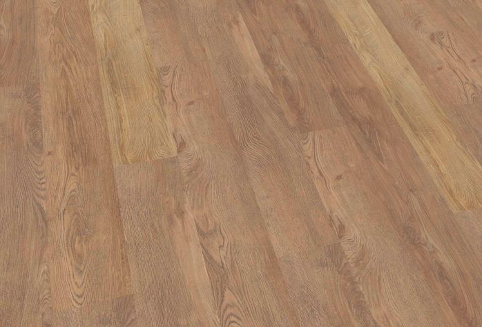 Mflor pvc vloer authentic oak tanoak bruin eiken onbehandeld