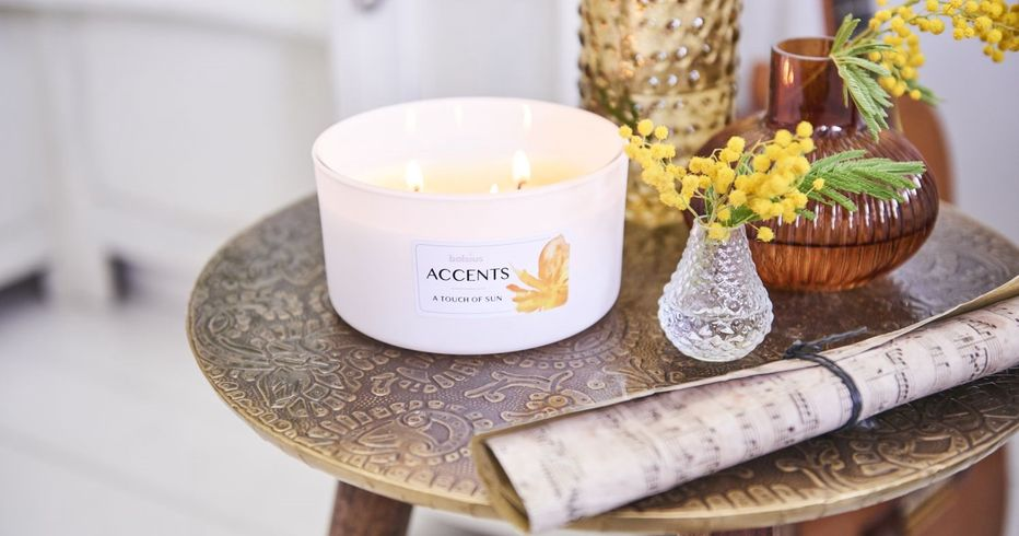 Bolsius Accents Fragrance Glasses