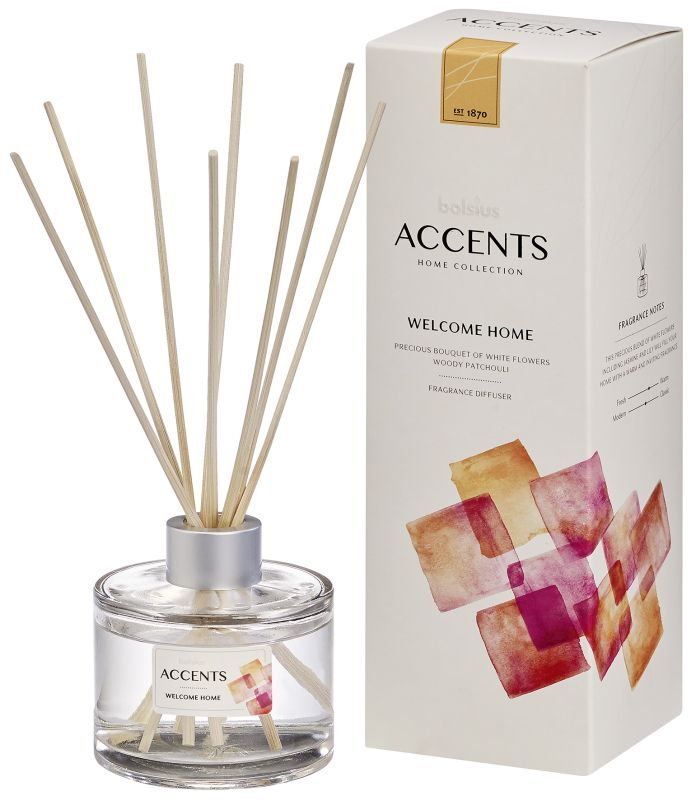 Bolsius Geurstokjes Accents Welcome Home 100 ml