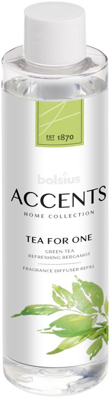 Bolsius Navulling Accents Tea for One 200 ml