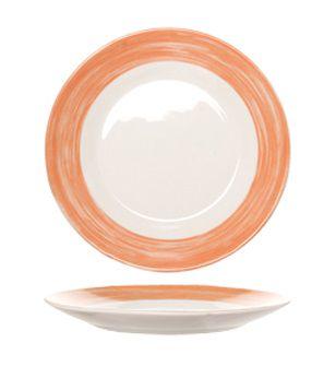 Arcoroc_Dessertbord_Oranje