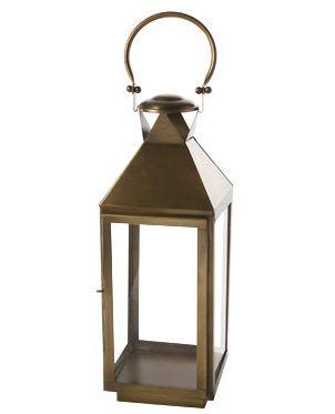 Cosy Home Windlicht Brass