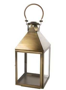 Cosy Home Windlicht Brass