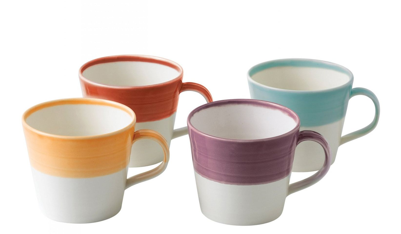 Royal Doulton Mokken 1815 Bright Colours 40 cl - 4 Stuks