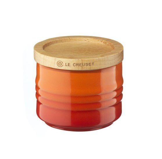 Le Creuset suikerpot oranje-rood 80 ml
