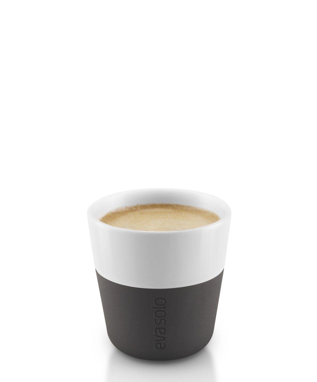 Eva Solo Espresso Kopjes Zwart 8 cl - 2 Stuks