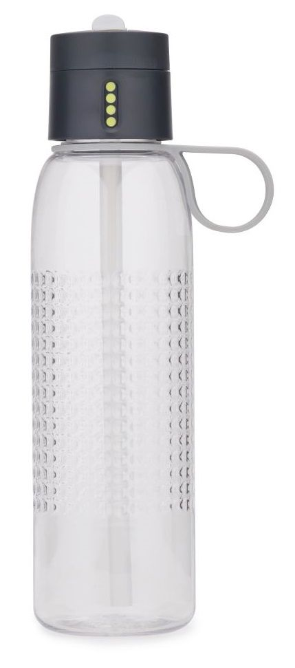 Joseph Joseph Waterfles Dot Grijs 750 ml