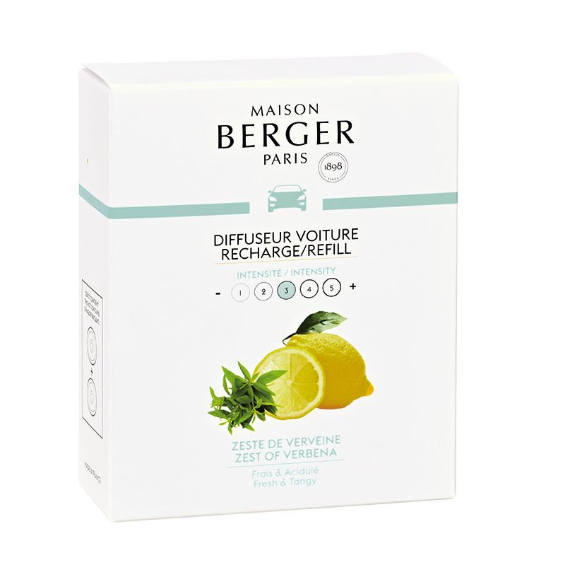 Maison Berger autoparfum Zest of Verbena