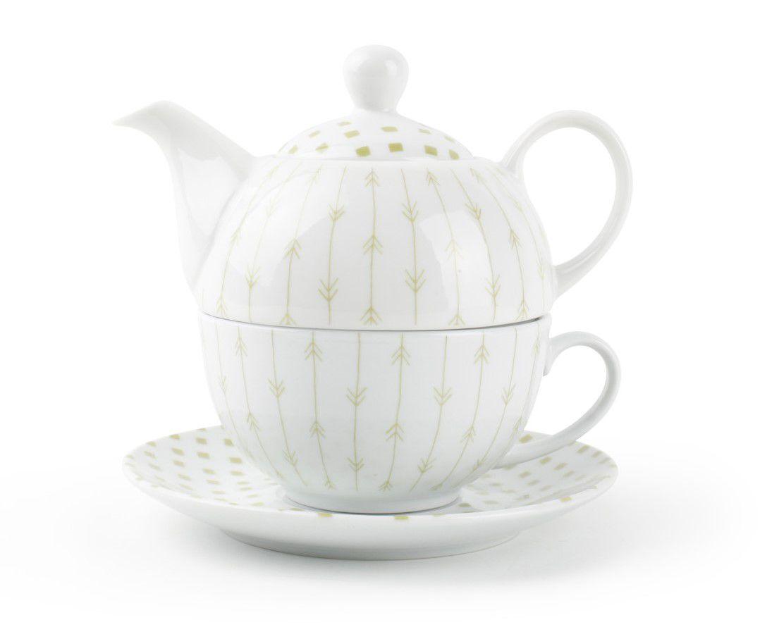 Yong theepot High Tea groen