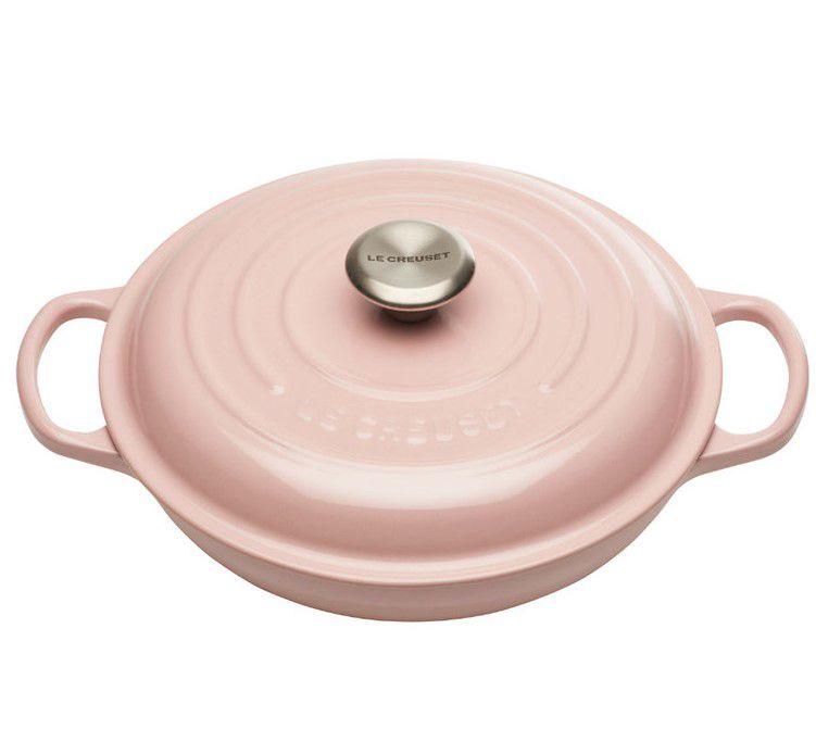 Le Creuset braadpan Campagnard roze Ø 30 cm