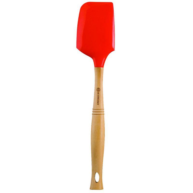 Le Creuset grote spatel oranje-rood 33 cm