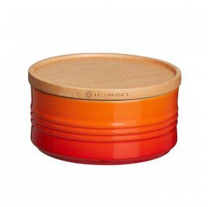 Le Creuset voorraadpot oranje-rood 0.7 liter
