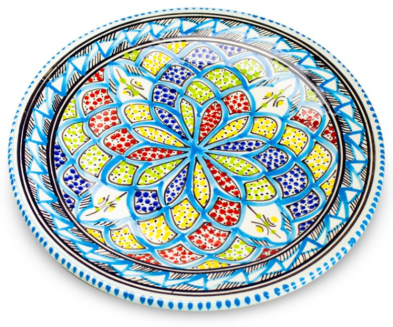 Dishes_Deco_Dinerbord_Turquoise_Blue