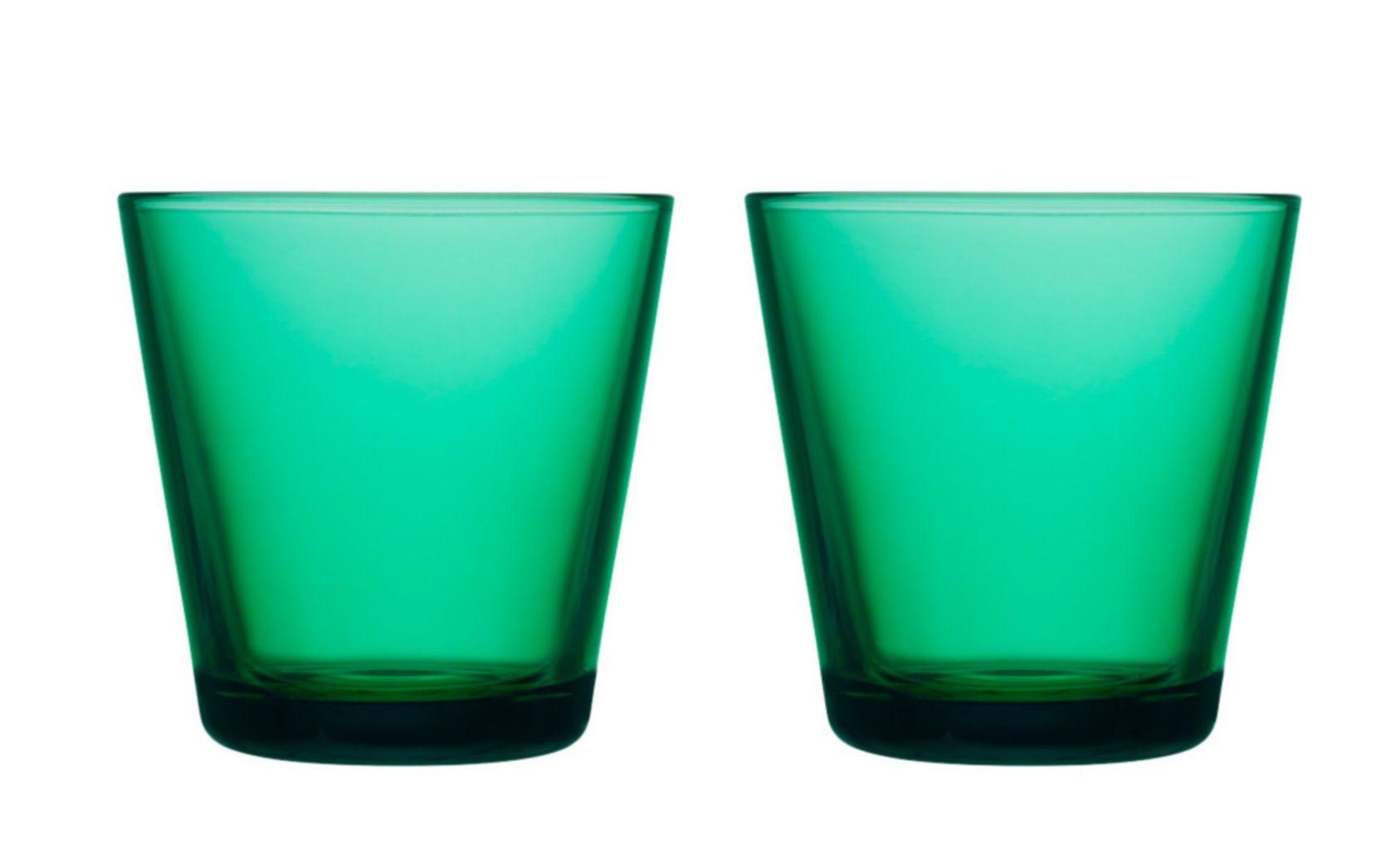 Iittala Kartio glas 21cl emerald - 2 stuks