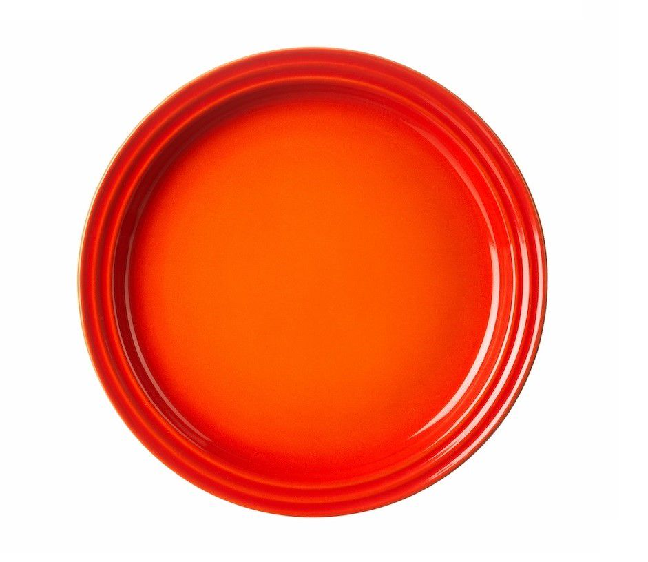 Le Creuset ontbijtbord oranje-rood Ø 22 cm