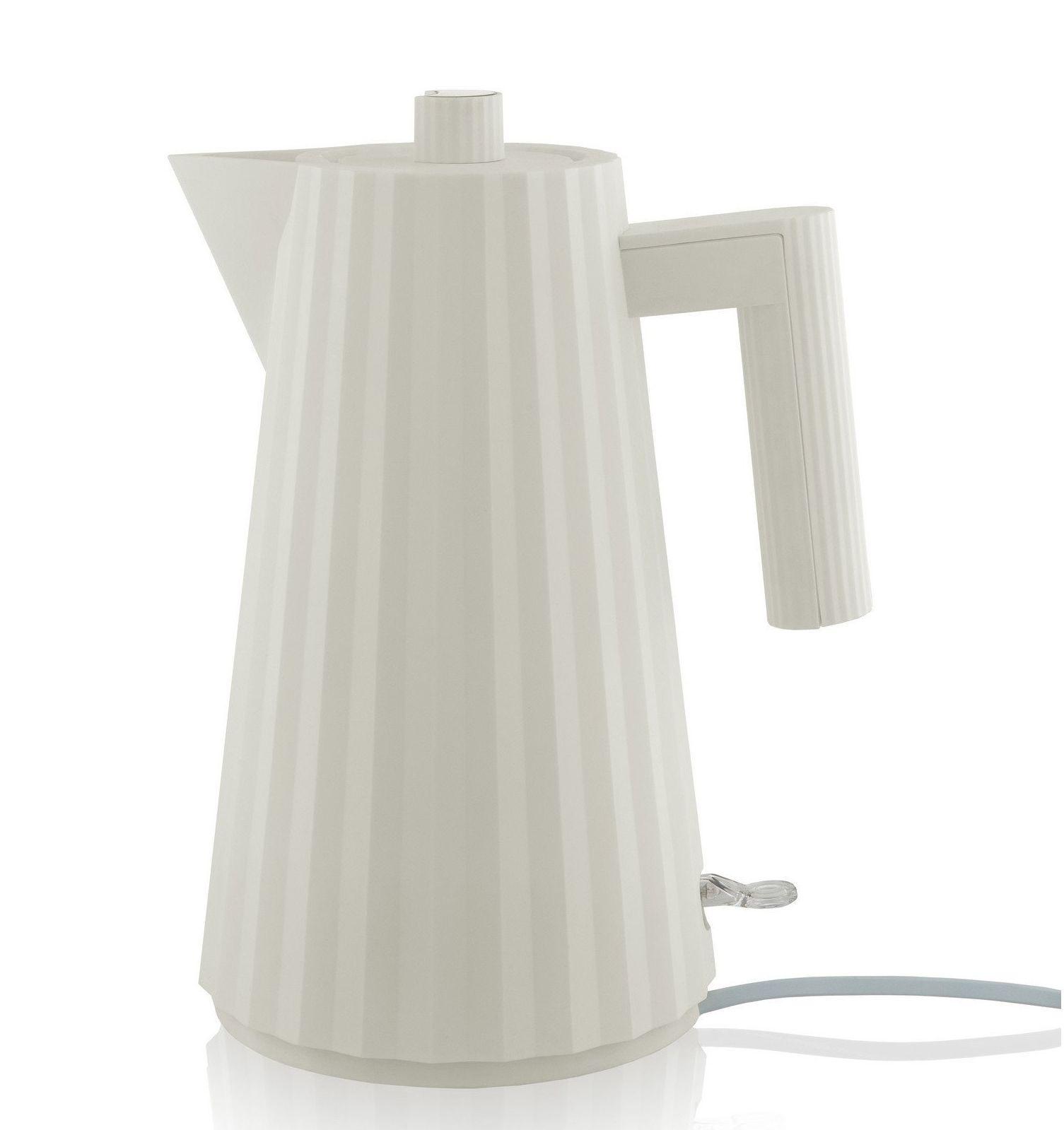 Alessi waterkoker Plissé wit - 1.7 liter