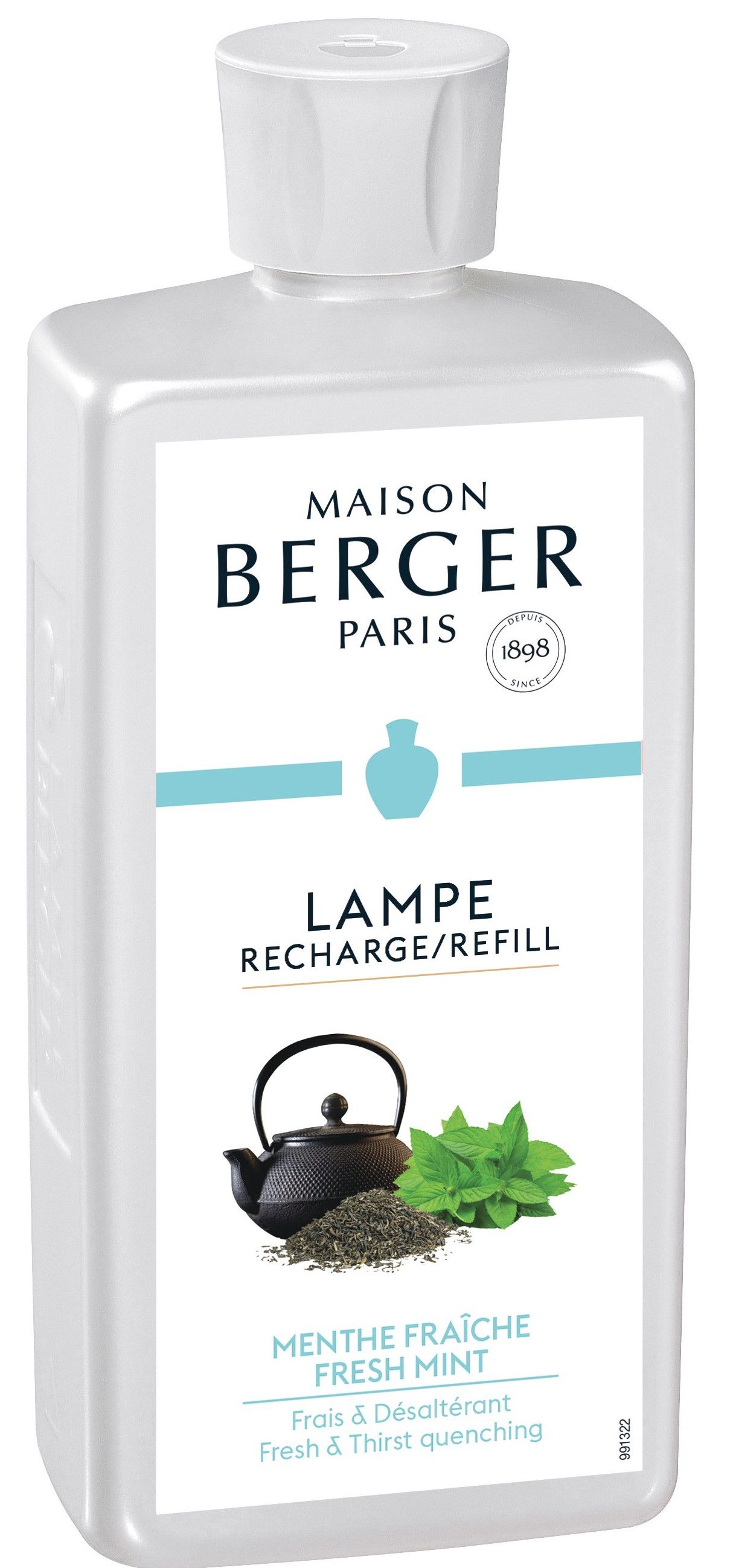 Lampe Berger navulling Fresh Mint 500 ml