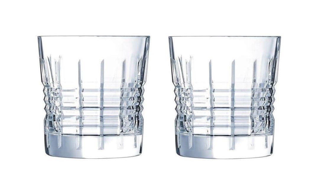 Cristal d'Arques whiskyglazen Rendez-Vous 32 cl - 2 stuks