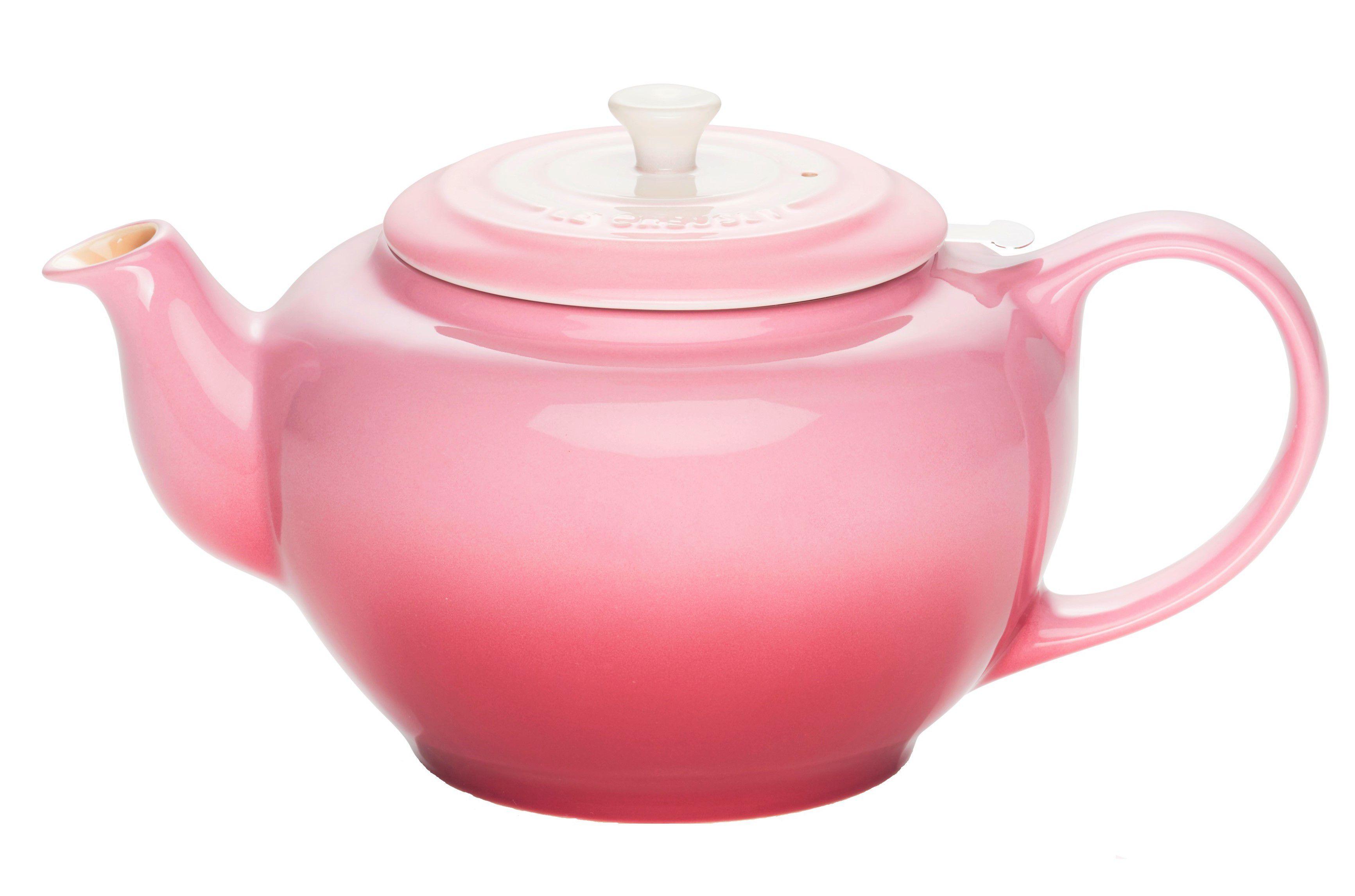 Le Creuset theepot ombre roze 1.3 liter