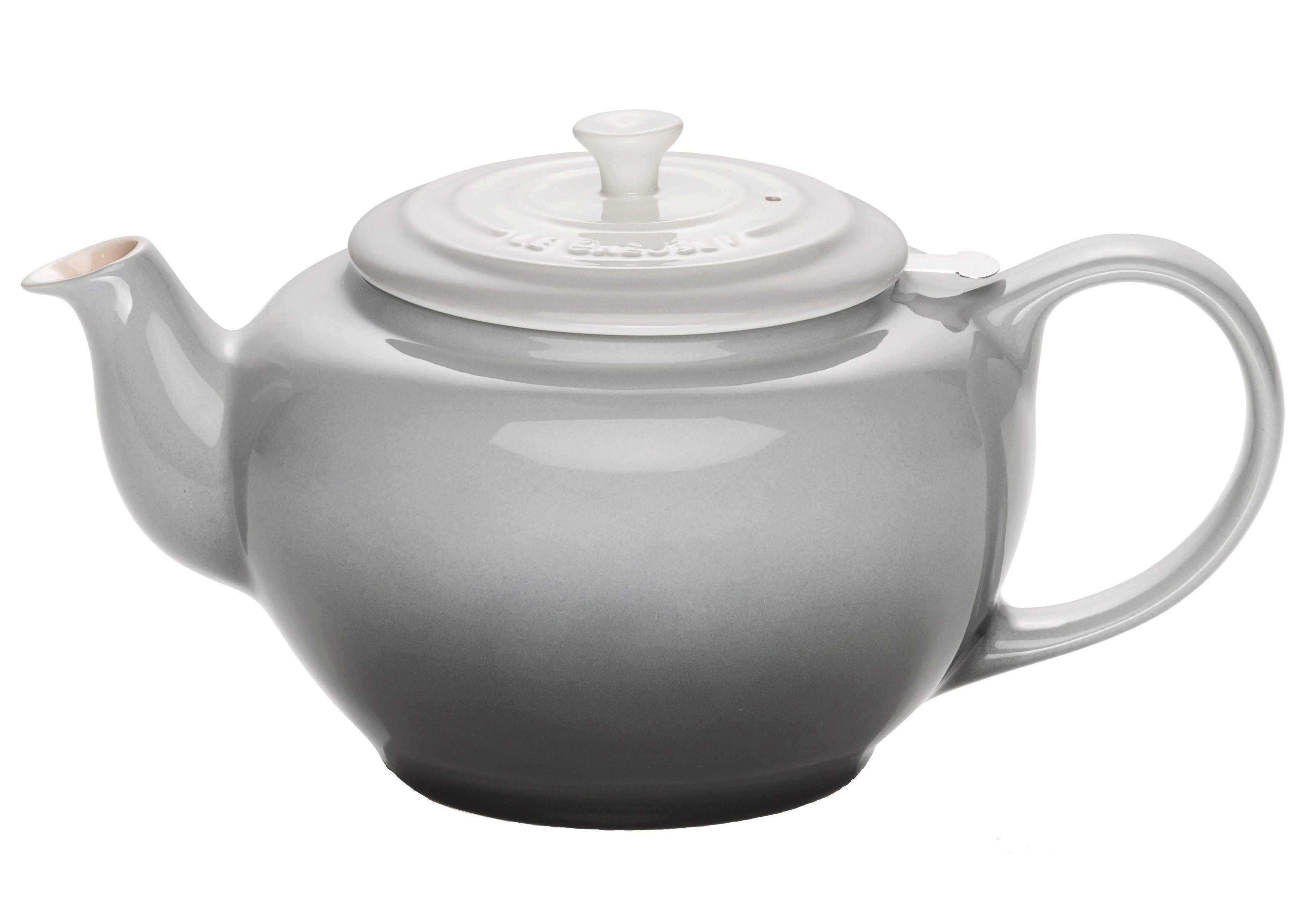 Le Creuset theepot ombre grijs 1.3 liter