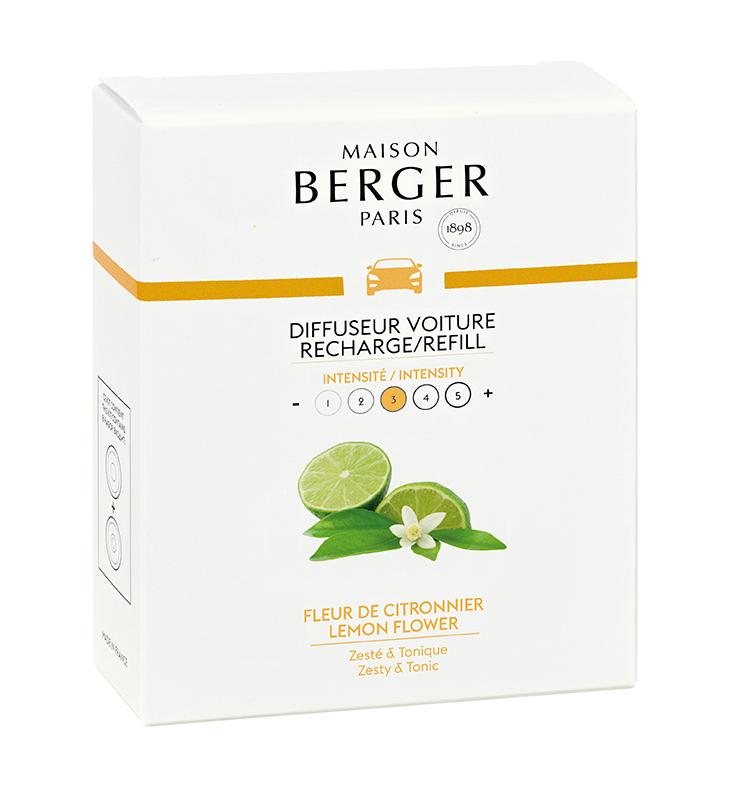 Maison Berger autoparfum Lemon Flower sfeer