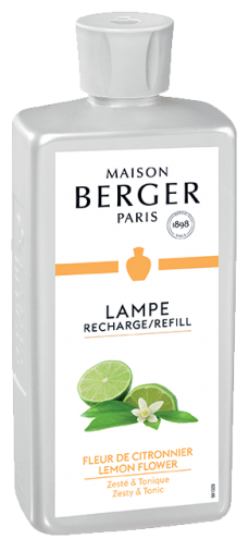 Lampe Berger navulling Lemon Flower 500 ml