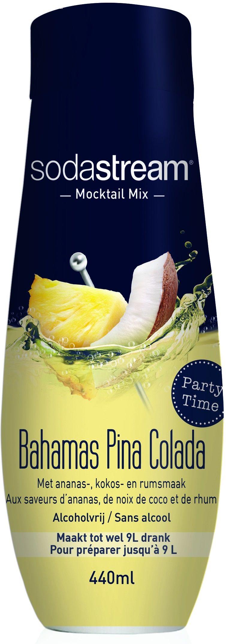 Sodastream Siroop Mocktail Bahama's Pina Colada