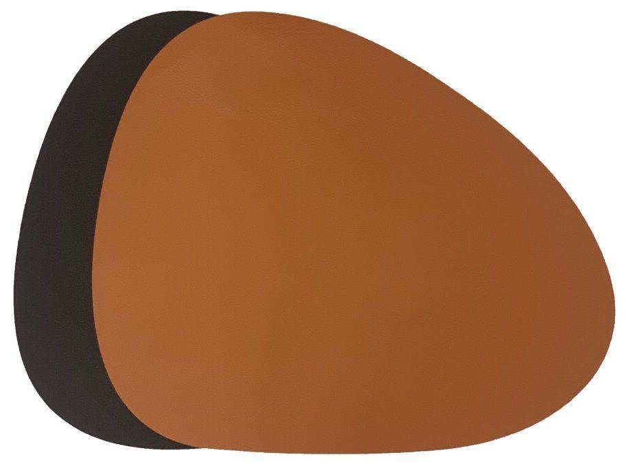 jay_hill_placemat_cognac_zwart_curved