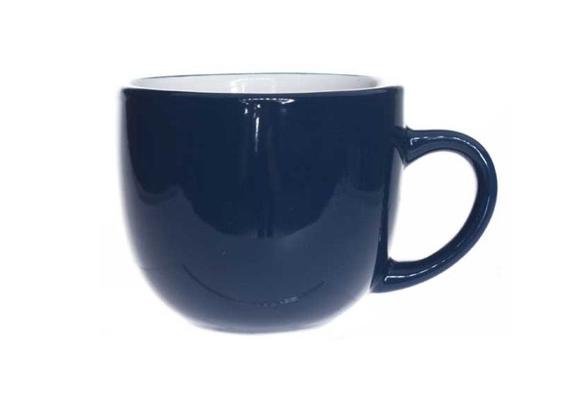 Cosy & Trendy Koffiebeker Vince Blauw 24 cl
